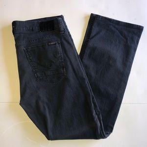 Hudson Byron 5 Pocket Black Straight Jeans